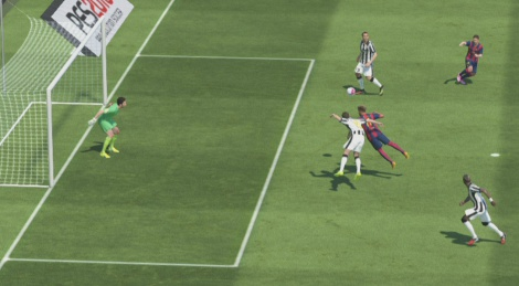 PES 2015 demo on GSY