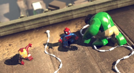 PS4 gameplay of Lego Marvel