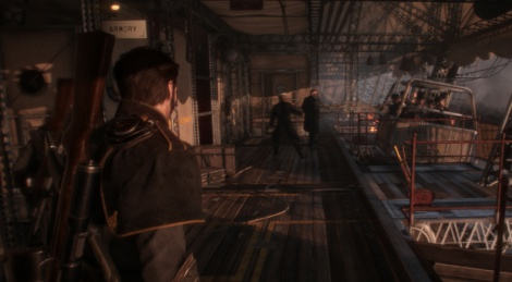 PSX: The Order 1886 new screens