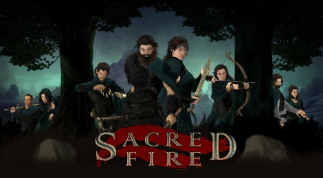 Psychological RPG Sacred Fire Kickstarted