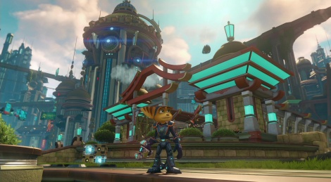 Ratchet & Clank on PS4 Pro