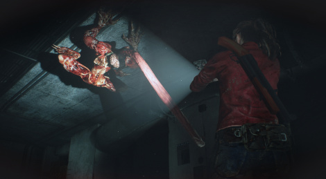Resident Evil 2: Licker Battle Gameplay