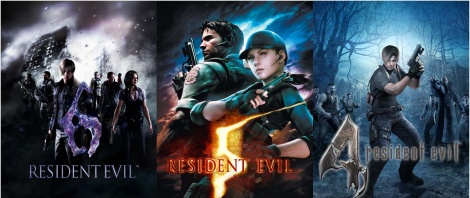 Resident Evil 4, 5 & 6 hitting PS4/X1