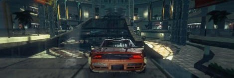 Ridge Racer Unbounded: Custom cities