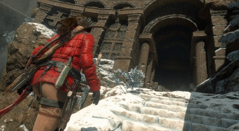 Rise of the Tomb Raider: PC screens