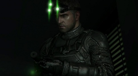 Sam Fisher uses WiiU gamepad