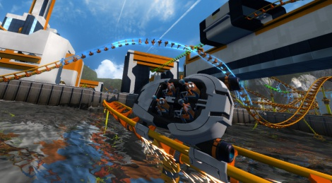ScreamRide images and press release