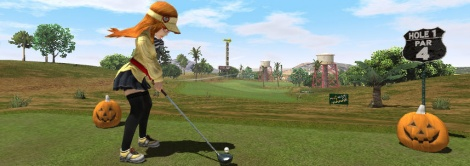 Screens of Everybody's Golf Vita