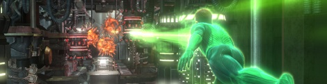 Screens of Green Lantern