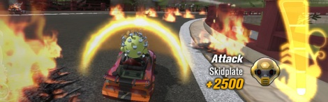 Screens of ModNation Racers Vita