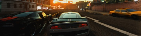 Screens of Ridge Racer Unbounded