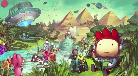 Scribblenauts Unlimited new video