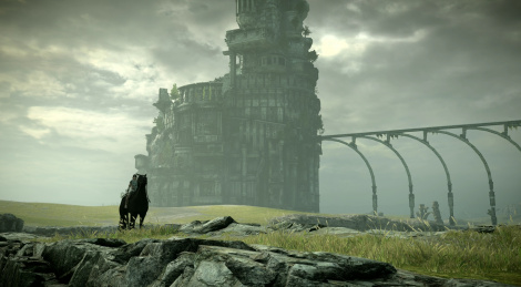 Shadow of the Colossus on base PS4