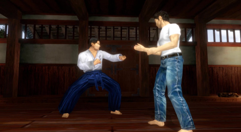 Shenmue I & II: Combat & Mini-Games