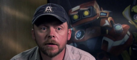Simon Pegg lends his voice for Spare Parts
