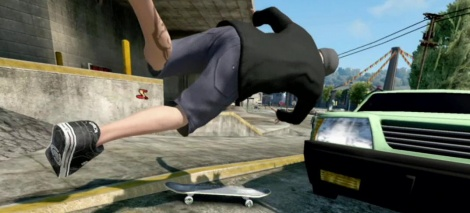 Skate 3 tumbles in a new video