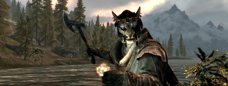 Skyrim: New Character Race Screens