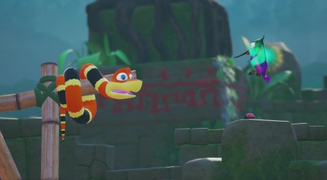 Snake Pass back on PC and PS4