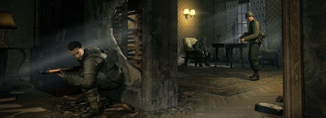 Sniper Elite V2 new screenshots