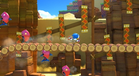 Sonic Forces showcases Green Hill Zone