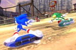 Sonic Free Riders : Images and trailer