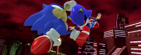 Sonic Generations shows bosses