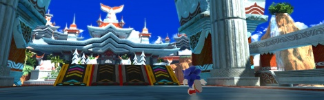 Sonic Generations shows Seaside Hill
