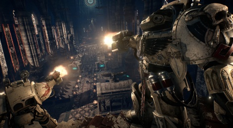 Space Hulk: Deathwing new screens