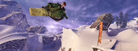 SSX: Psymon & Moby screens