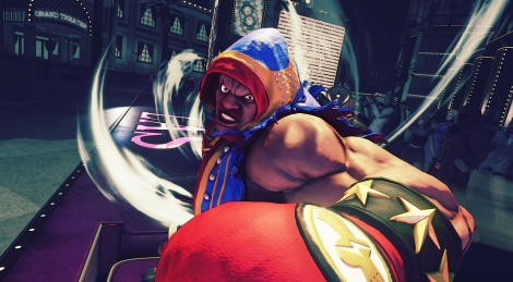 Street Fighter V: Balrog, new contents