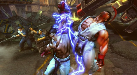 Street Fighter X Tekken announced