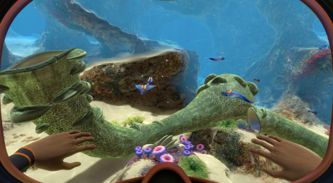 Subnautica launches on PS4 and Xbox One