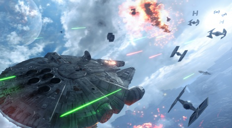 SW Battlefront: Fighter Squadron trailer