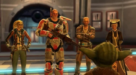 SW The Old Republic en mouvement