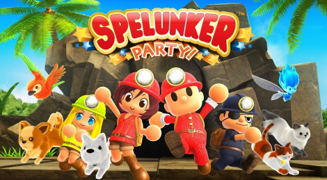 Switch videos of Spelunker Party!