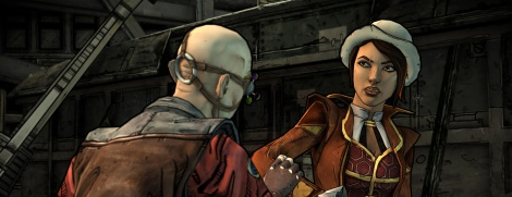 Tales from the Borderlands first screens