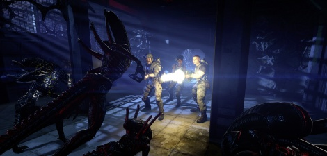 Teaser of Aliens Colonial Marines
