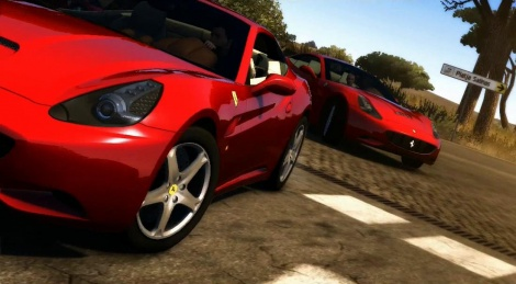 Test Drive Unlimited 2 sees red