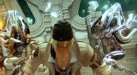 TGS09: Final Fantasy XIII gameplay