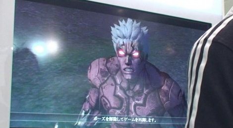 TGS: Asura's Wrath gameplay