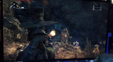 TGS: Bloodborne DLC gameplay