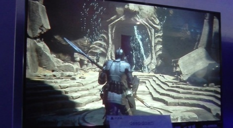 TGS: Deep Down gameplay