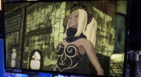 TGS: Gravity Daze gameplay