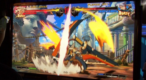 TGS: Guilty Gear Xrd gameplay