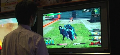 TGS : Gundam Extreme VS gameplay