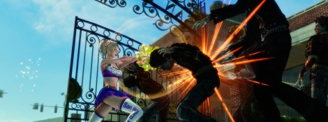 TGS: Lollipop Chainsaw screenshots