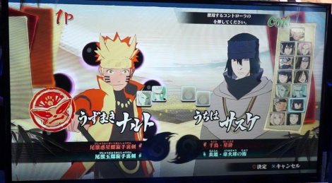 TGS: Naruto UNS4 gameplay