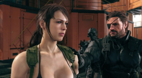 TGS: New screens of MGS V: TPP