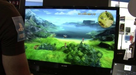 TGS: Ninokuni gameplay