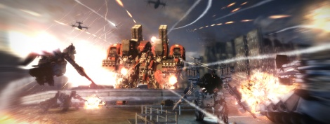 TGS: Screens of Armored Core V